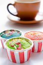 Free Colorful Cupcakes Royalty Free Stock Photography - 28013417