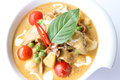 Free Roast Duck With Red Curry Royalty Free Stock Photography - 28293377