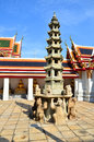 Free Pagoda Of Thai S Temple Royalty Free Stock Image - 28342126