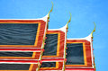 Free Roof Of Thai Temple Stock Photo - 28342820