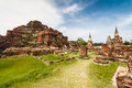 Free Ancient Temple Of Ayutthaya Royalty Free Stock Photo - 28352605