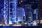 Free Hong Kong Skyline At Night Royalty Free Stock Image - 28447006