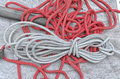 Free Colored Ropes Royalty Free Stock Photos - 28554338