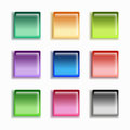 Free Glass Button Set Stock Photography - 28623592