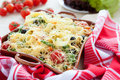 Free Pasta With Cherry Tomato And Cheese Royalty Free Stock Photo - 28632925