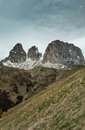 Free The View From The Saddle Passo Sella Stock Photos - 28640213