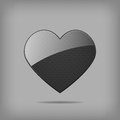 Free Vector Metal Heart. Royalty Free Stock Images - 28740759