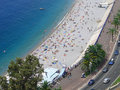 Free The Beach In Nice, France. Stock Photo - 3077340