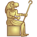 Free God Ra (golden) Stock Photography - 3078992