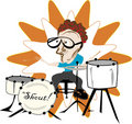 Free Drummer In The Band Royalty Free Stock Photo - 3163755