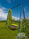 Free Swing In Garden Stock Photography - 3179892