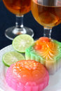 Free Jelly Moon Cakes Stock Image - 3250511