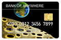 Free Credit Card With Earth And Moo Royalty Free Stock Photos - 3284428