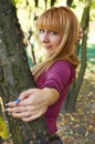 Free Autumn Blond Stock Photography - 3387382