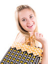 Free Cute Shopping Girl Royalty Free Stock Photo - 3621865