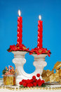 Free Red Candle Royalty Free Stock Photos - 3651228