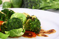 Free Lightly Cooked Broccoli Royalty Free Stock Photography - 3672347