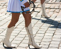 Free Drummer Girls Legs On City Day Stock Photo - 37182760