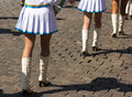 Free Drummer Girls Legs On City Day Royalty Free Stock Image - 37182766