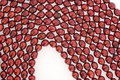 Free Dark Red Pearl Strands Royalty Free Stock Images - 3750189