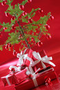 Free Elegant Red Presents Royalty Free Stock Photos - 3765978