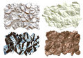 Free Crumpled Textures Royalty Free Stock Photos - 3786038