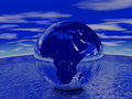 Free Globe Render Royalty Free Stock Image - 3925616