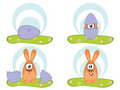 Free Easters Egg - Easters Rabbit Royalty Free Stock Image - 4114536