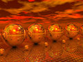 Free Mirror Balls Royalty Free Stock Photo - 4127925