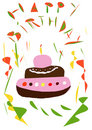 Free Birthday Cake Royalty Free Stock Photos - 4445568