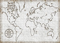 Free Computer Generated  Map Of The World Stock Photos - 4528633