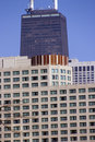 Free Hancock Building From Far Away Royalty Free Stock Photo - 4563105