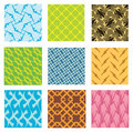 Free Nine Different Seamless Pattern Stock Photo - 4576420