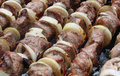 Free Appetizing Shashlik Stock Image - 4681321