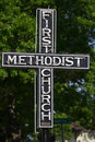 Free First Methodist Church Sign Stock Image - 4754821