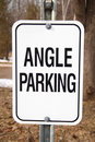 Free Angle Parking Royalty Free Stock Photo - 4837275