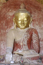 Free Myanmar, Bagan: Statue In Dhammayangyi Temple Royalty Free Stock Photos - 4902348