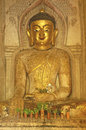 Free Myanmar, Bagan: Statue In A Pagoda Royalty Free Stock Photography - 4914037
