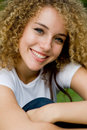 Free Pretty Girl Outside Royalty Free Stock Image - 4957696