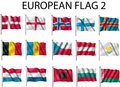 Free Flag European Royalty Free Stock Photography - 5020907