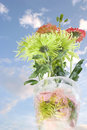 Free Flowers In An Ice Vase Royalty Free Stock Images - 5040469