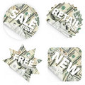 Free Money Retail Stickers Stock Image - 5130321