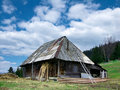 Free Hut In Romania Mountains Royalty Free Stock Image - 5177476