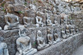 Free Rows Of Buddha Statues Stock Photos - 5225663