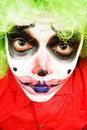 Free Spooky Clown Royalty Free Stock Photo - 5256755