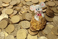 Free Rich Mouse And His Money Stock Photography - 5365572
