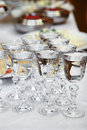 Free Wine-glasses With Vodka Stock Images - 5381364