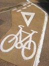 Free Cycle Lane Stock Photos - 5432313