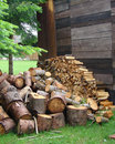 Free Logs, Wood Store Stock Photography - 5495142
