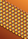 Free Honeycomb Background Royalty Free Stock Images - 5544069
